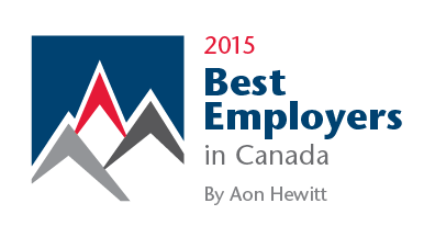 We are among the 50 Best Employers in Canada!