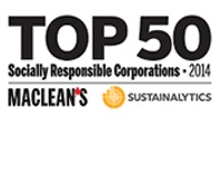 Top 50 Socially Responsible Corporations