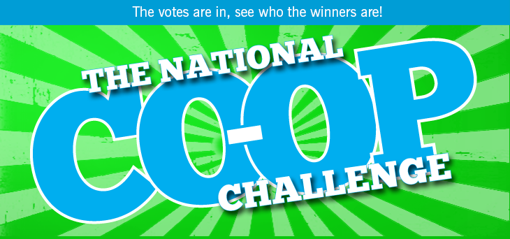 The National Co-op Challenge - The votes are in, see who the winners are!